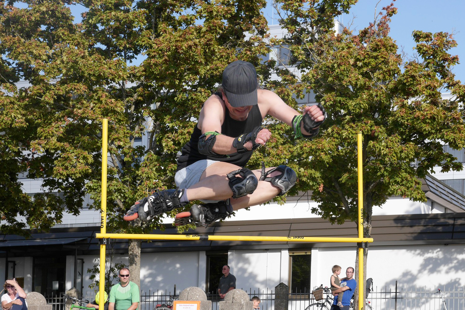 Free Jump beim BATTLE OF BADEN 2020 in Karlsruhe